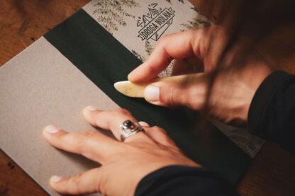 ręcznie robiony notes