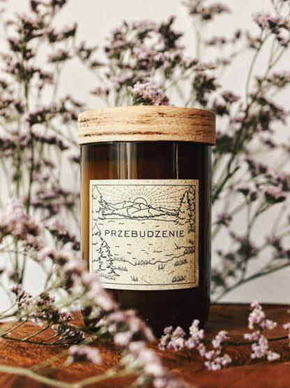 naturalna zapachowa świec wegańska