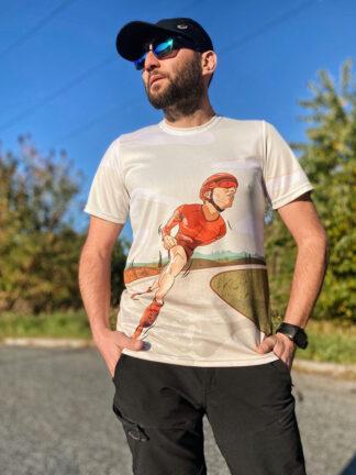 Koszulka męska rolkowa